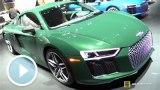顏色是亮點 詳拍2016款奧迪R8 V10 plus